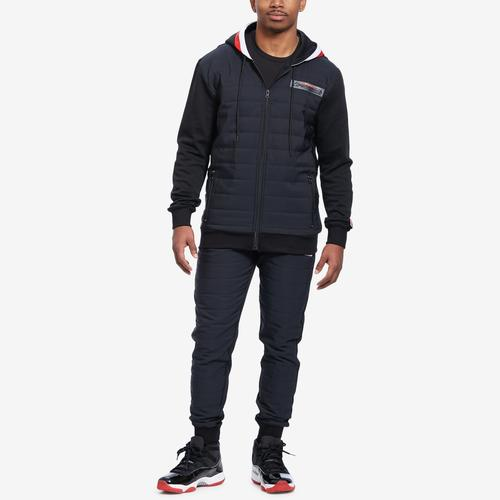Alternate View of BLACK PYRAMID Men's Quilted Nylon Panel Hoody