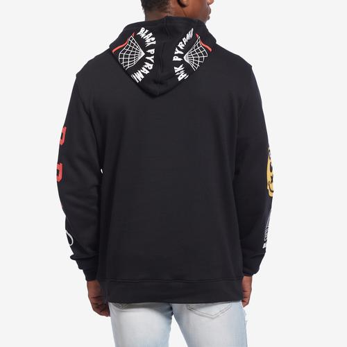 BLACK PYRAMID Men's World Famous Logo Hoody