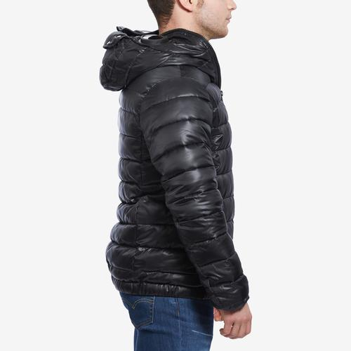 Left Side View of BLACK PYRAMID Men's Expedition Goggle Bubble Jacket