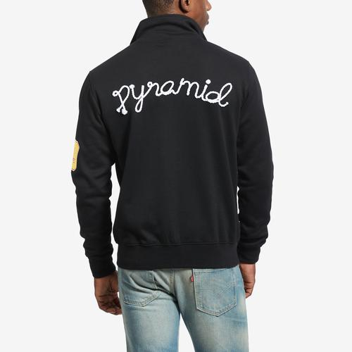 Back View of BLACK PYRAMID Men's Grease Monkey Track Jacket