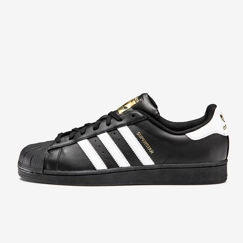 Left Side View of adidas Men's Superstar Foundation Sneakers