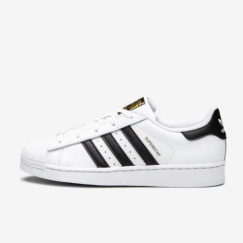 Left Side View of adidas Boy's Preschool Superstar Sneakers