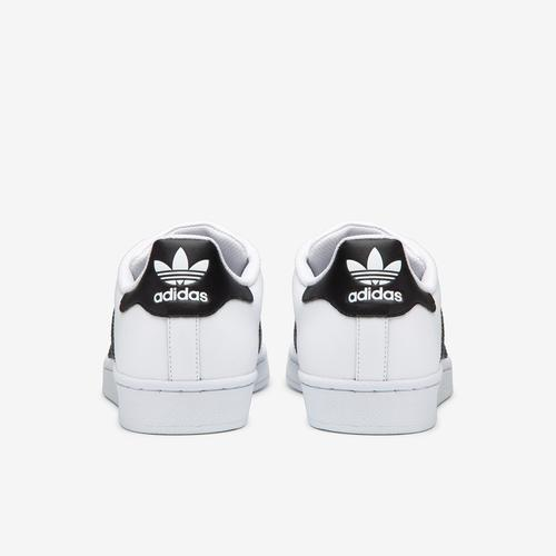 Back View of adidas Boy's Preschool Superstar Sneakers