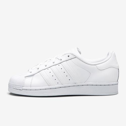 Left Side View of adidas Boy's Preschool Superstar Sneakers
