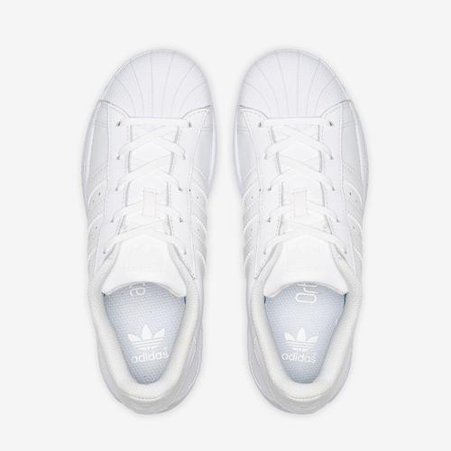 Bottom View of adidas Boy's Preschool Superstar Sneakers