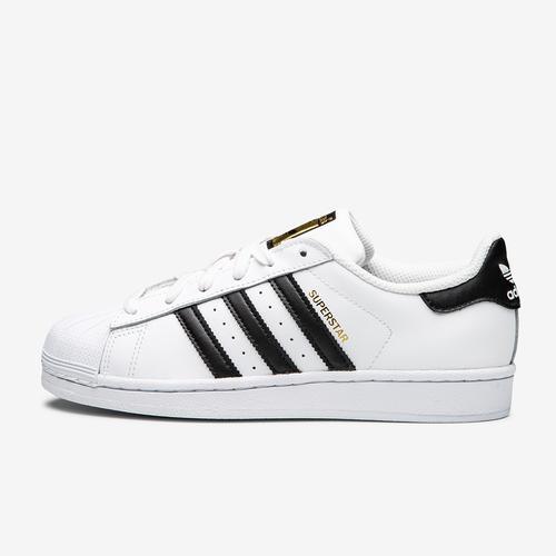 Left Side View of adidas Boy's Grade School Superstar Sneakers