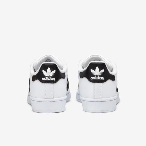 Back View of adidas Boy's Grade School Superstar Sneakers