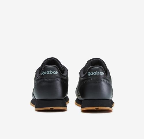 Back View of Reebok Boy's Grade School Classic Leather Sneakers