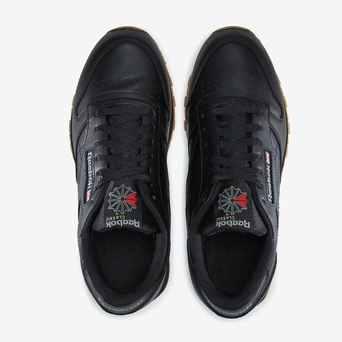 Bottom View of Reebok Boy's Grade School Classic Leather Sneakers